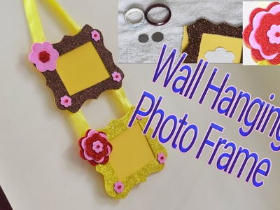 DIY Simple and Easy Wall Hanging Photo Frame