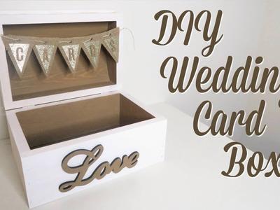 DIY Wedding Card Box Shabby Chic