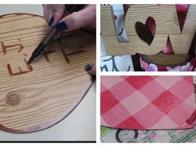 Dollar Tree DIY- Valentine's Day Decor