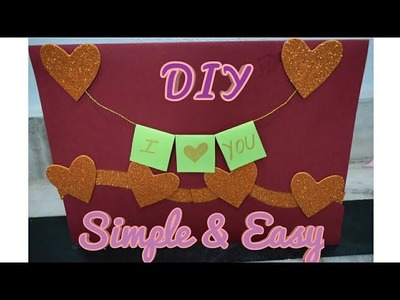 How To Make A Love Card for Valentine's Day Latest Design #HandMade #PaperCraft #Ideas #Love #DIY