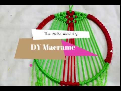 #Macrame #Wallhangings DIY WALL HANGING