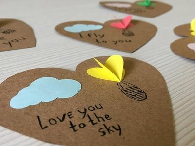 This cute DIY Valentine's card