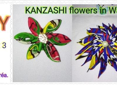TUTO FLEURS EN WAX - Part 3. DIY KANSASHI FLOWERS IN WAX - Part 3.