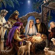 CRAFTS Christmas Card Nativity Scene Cross Stitch Pattern***LOOK***