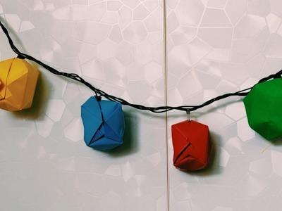 Christmas Decoration Idea  | Paper Christmas Decoration | Paper Decoration | Wall Hanging Idea