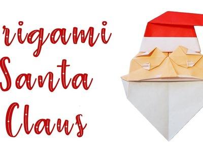 Christmas Origami Santa Claus Tutorial (Mieko Seta)