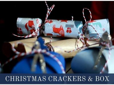 DIY Christmas Crackers & Gift Box | The Life Lab.