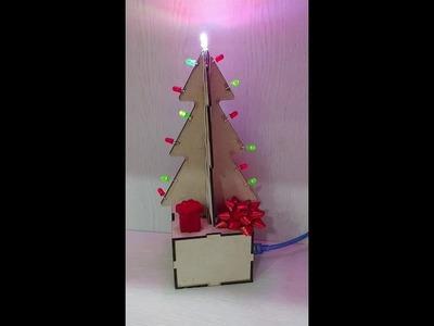 DIY Christmas Tree(with Arduino)