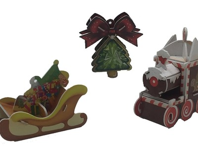 DIY Miniature CHRISTMAS ORNAMENTS