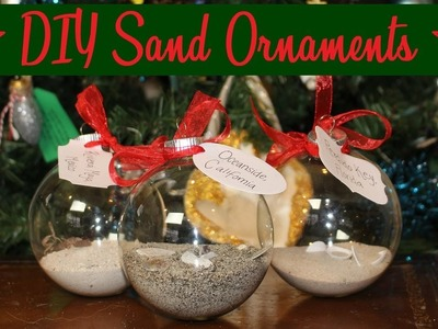 DIY Sand Ornaments