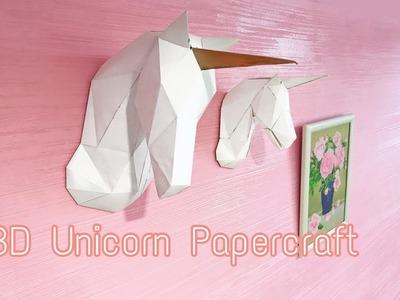 DIY Unicorn Papercraft