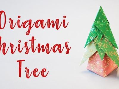 Easy Kids Origami Christmas Tree Tutorial (Gi Kung & Ha Mu Ping)