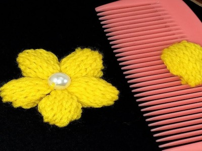 Hand Embroidery: Flower Embroidery with Easy Trick.