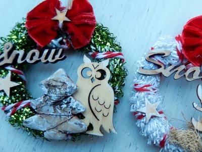 Handmade Christmas ornaments 2018