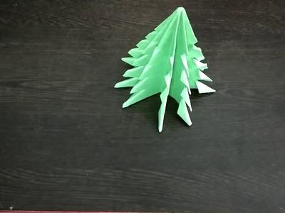 How to make paper Christmas tree | Tanvi Talent