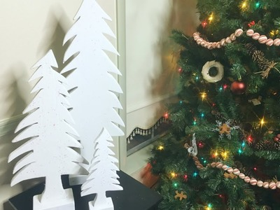 How to Make Simple Farmhouse Christmas Tree Decorations