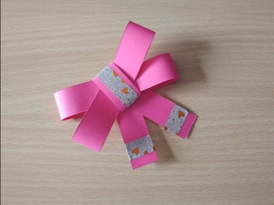 Paper bow tutorial by Sheetal Khajure- Arty Hearty