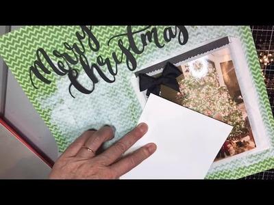 Scrapbooking Process Video |MerryChristmas, Love Capri & Teddy~