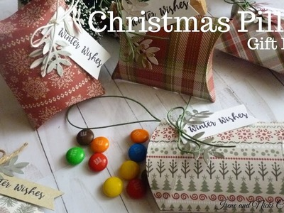 Sizzix  Christmas Pillow Gift Box