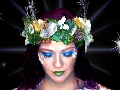 Snow Goddess-Costume Headpiece DIY