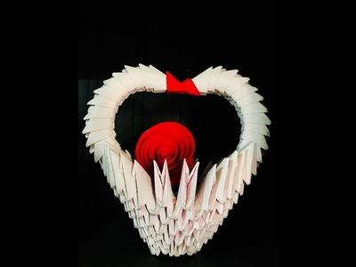 Valentine's day gift idea - origami 3D Heart model