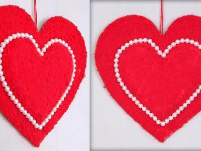 Wool Heart Wall Hanging !!! DIY Project