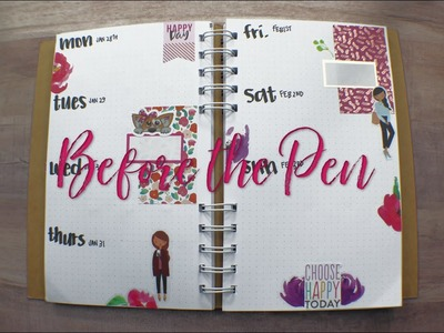 A5 Everyday Planner-Before the Pen