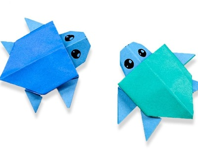 Easy Origami Turtle - How to Make Turtle Step by Step