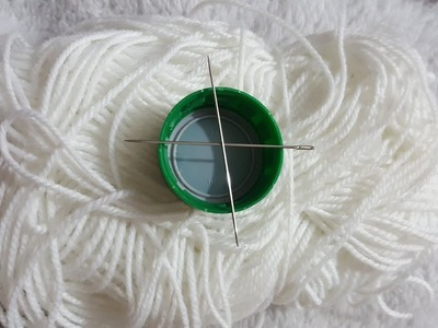 Hand Embroidery Cotton Flower Easy Trick Needle Hack Stitch Flower Design