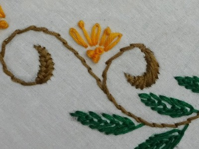 Hand embroidery for dress.blouse.bedsheet