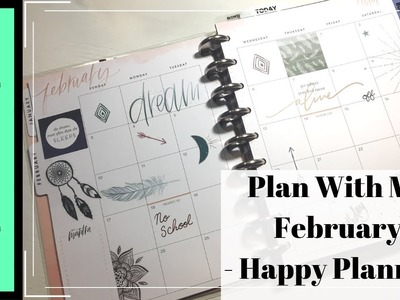Happy Planner | Plan With Me | February