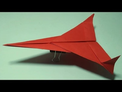 How to Make a Classy Paper Airplane That Flies Far To Long Distance : Paper Airplane