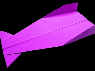 How to make a paper airplane that flies far and fast easy
