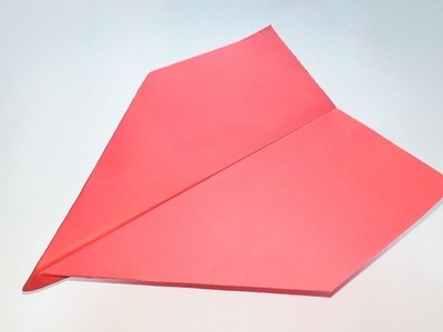 How To Make WORLD RECORD Paper Airplane That Fly Far