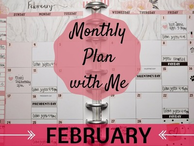 PLAN WITH ME. February 2019 - Happy Planner + GIVEAWAY