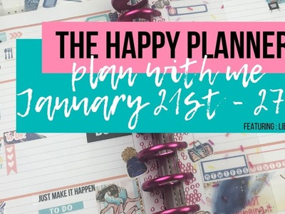 Kit, Plan With Me Happy Planner Horizontal Layout - Using