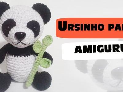 Ursinho panda amigurumi parte1