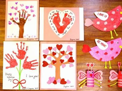 Valentines DIY Art & Crafts For Toddlers.Preschooler | Kids Valentines Crafts | Mytwolittlesunshines