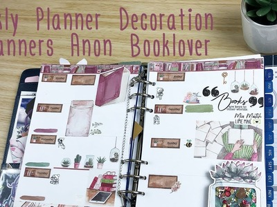 Weekly Planner Decoration - Planners Anonymous Booklover
