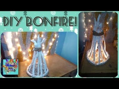 WINTER SPECIAL    DIY BONFIRE SHOWPIECE!
