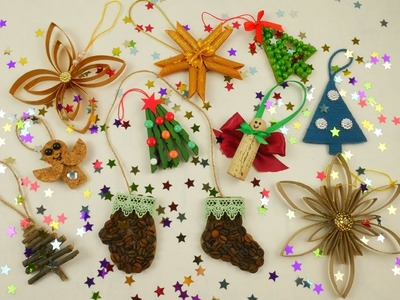 10 DIY Ideas for Christmas Tree Decorations