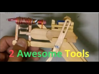 2 Awesome Tools You Can DIY at Home