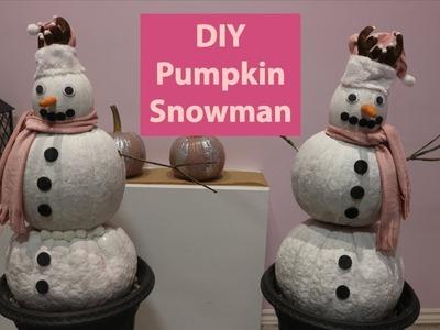2018 Christmas DIY.Reusing pumpkins for Christmas