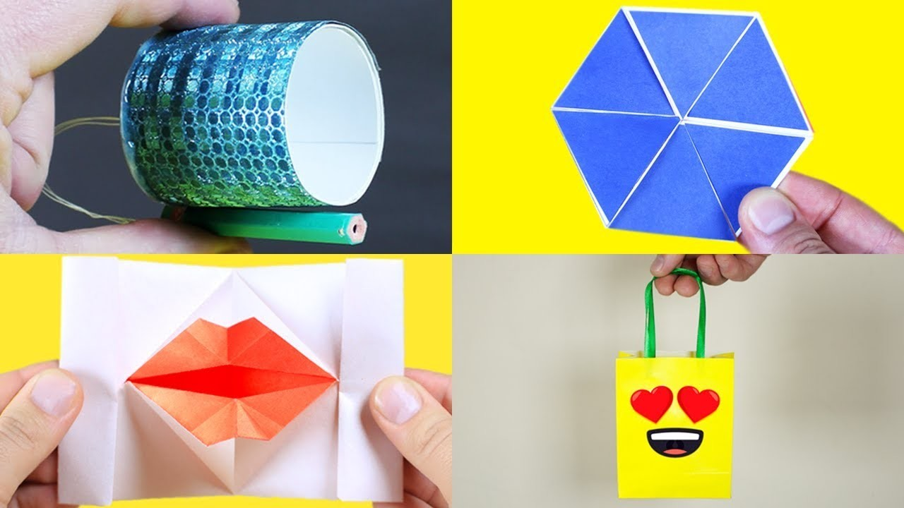 4 AMAZING THINGS YOU CAN DIY AT HOME WITH PAPER
