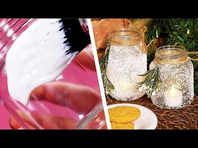 4 DIY Christmas Candles | DIY Decorations | Four Nine Beauty