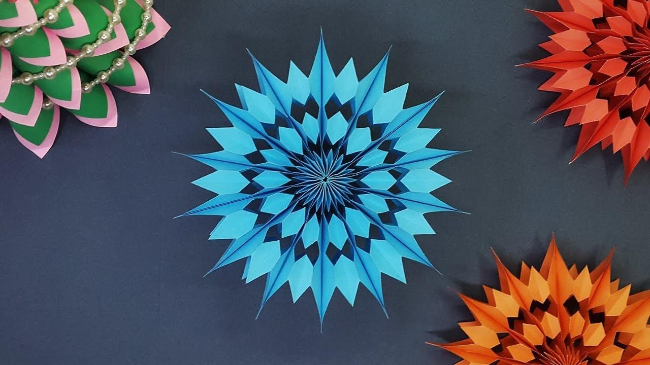 Amazing Mini Christmas Snowflakes Paper Stars Diy Decoration Ideas