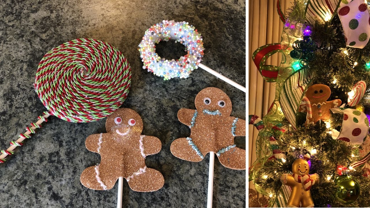 Christmas Candy Tree With Some Diy Candy Ornaments 2018
