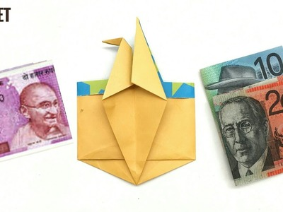 Crane Wallet by Jose Meeusen - DIY Origami Tutorial by Paper Folds - 951