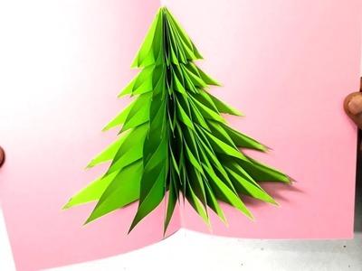 Creative Homemade Paper Christmas Cards   DIY Christmas & New year pop up card ideas