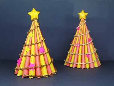 DIY 3D Paper Christmas Tree | Christmas Crafts